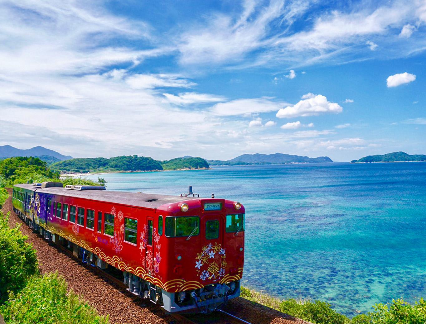 画像:観光列車