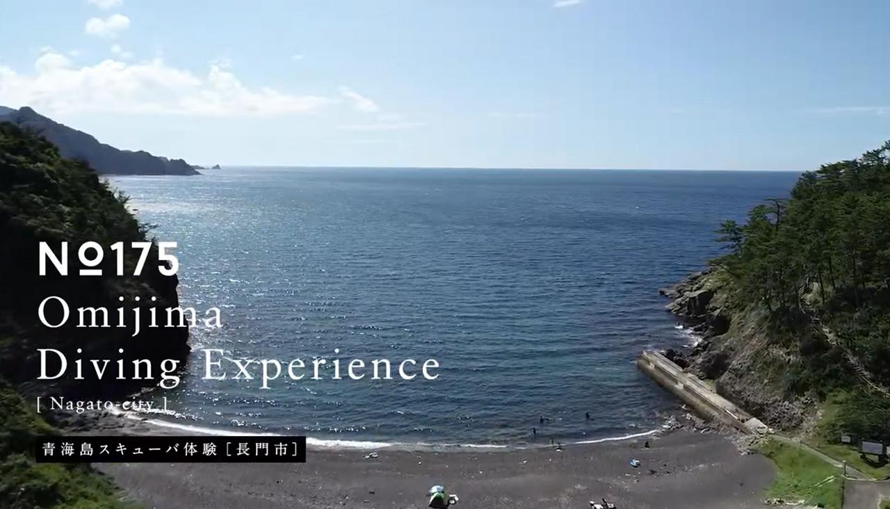 画像:青海島スキューバ体験